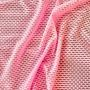 Tule Arrastão Candy Pink