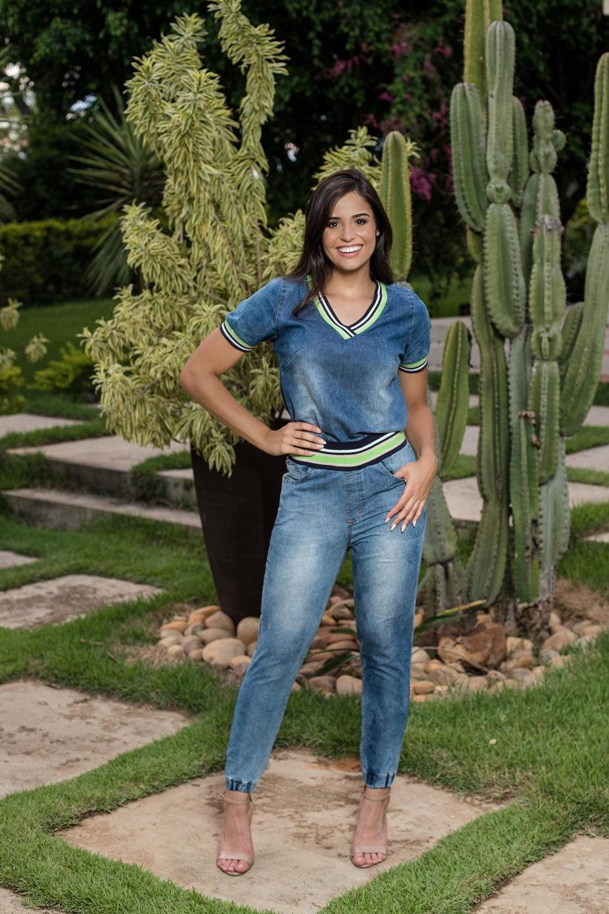 Calça Jeans Retilínea
