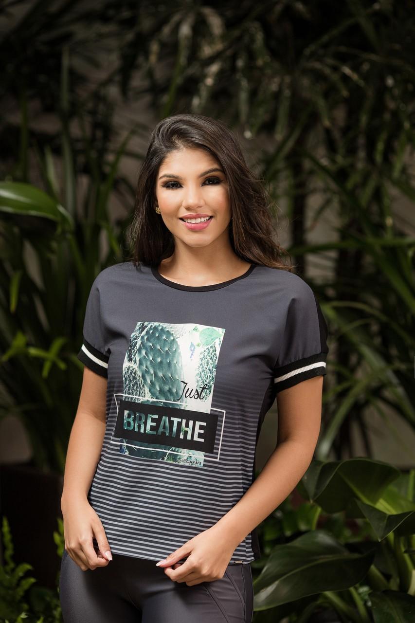 T Shirt com Punho