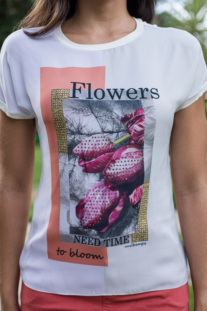 T Shirt Flowers