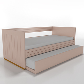 Cama sofá com auxiliar Parthenon