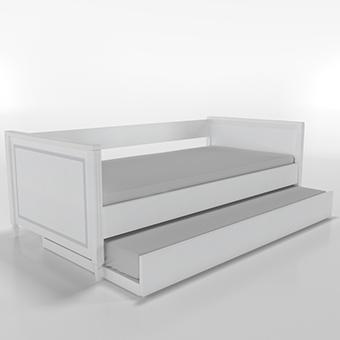 Cama sofá com auxiliar Tudor