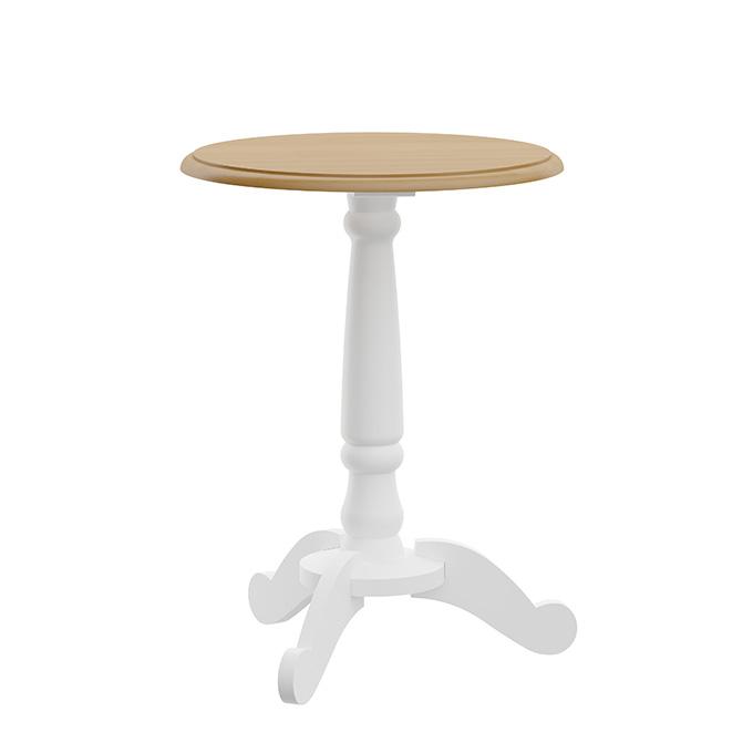 Mesa lateral em madeira