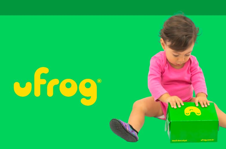 Ufrog Infantil Antiderrapante Dino