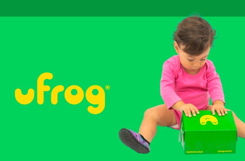 Ufrog Infantil Antiderrapante rainbow