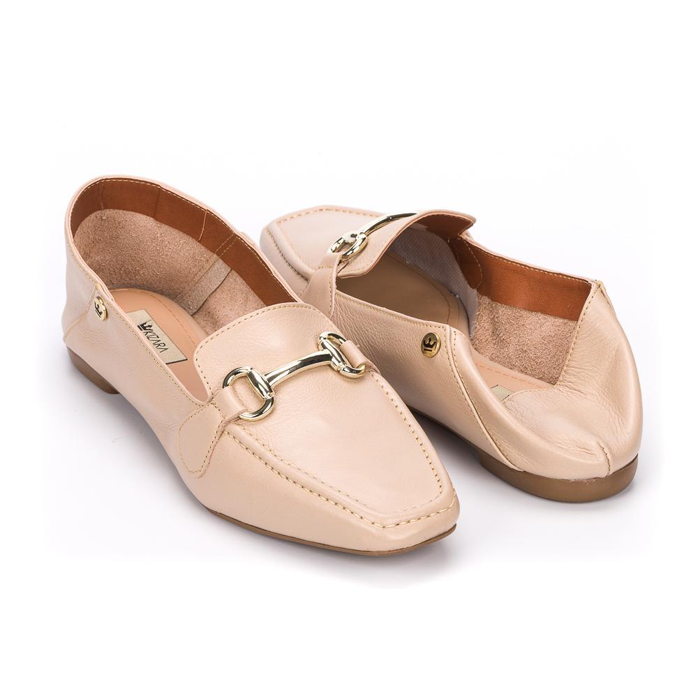 Loafer Gisele couro deserto