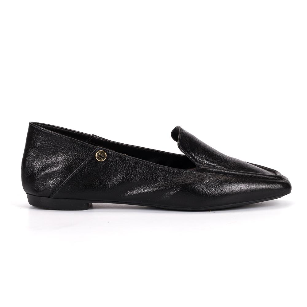 Loafer Livia couro preto