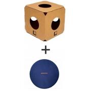 Labirinto Gatomoderno 1 cubo + almofada