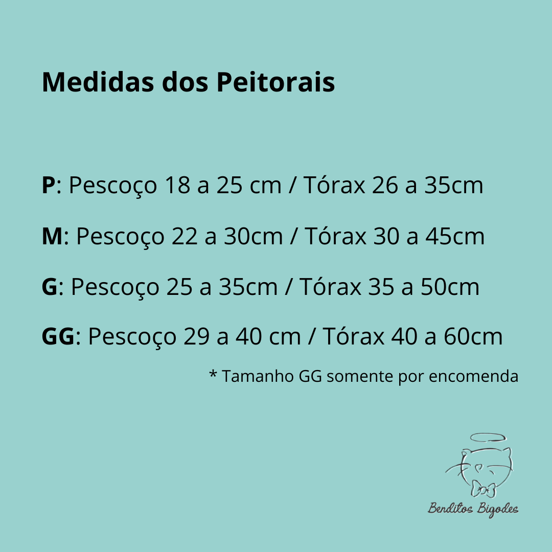 Peitoral GG Jeans