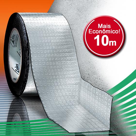 AluBand PE10 Alumínio - Rolos 10m