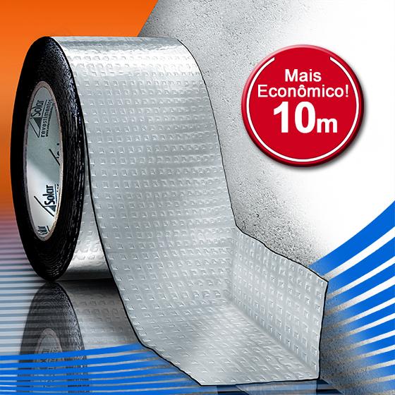 AluBand PET06 Alumínio - Rolos 10m