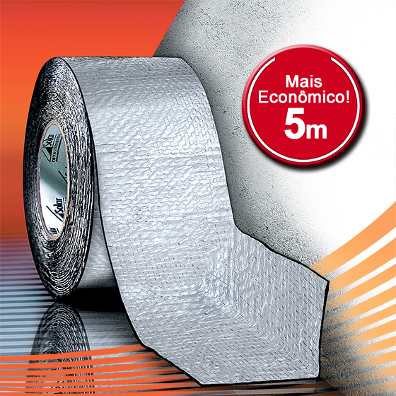 AluBand RF12 Alumínio Mini - Rolos 5m