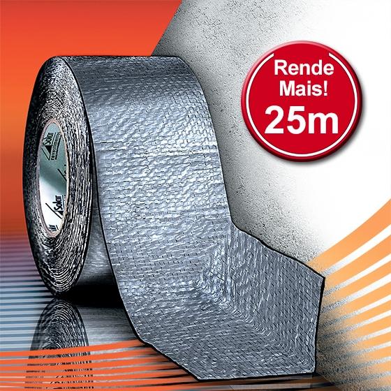 AluBand RF12 Cinza Maxi - Rolos 25m