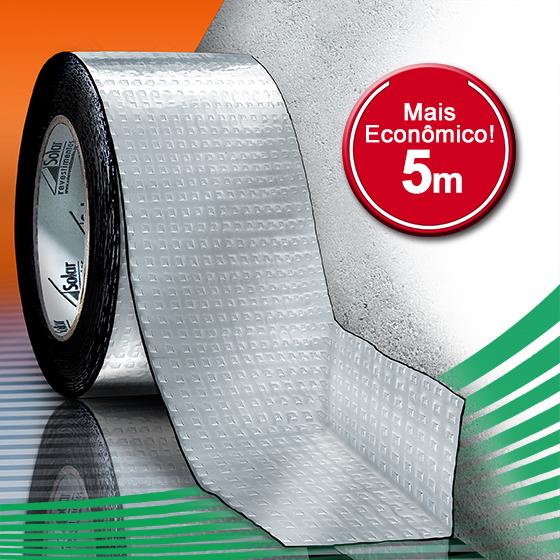 Manta Asfáltica - AluBand PE06 Alumínio Mini