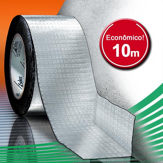 AluBand PE06 Alumínio - Rolos 10m
