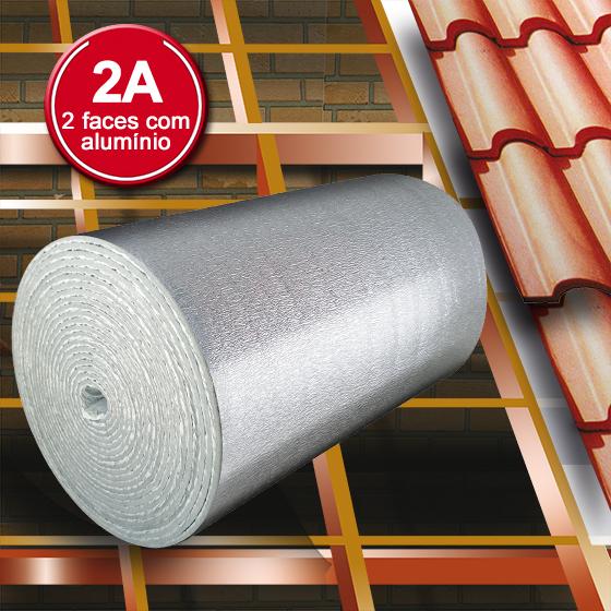 Manta Térmica Alumínio e Espuma - ThermoFoil E-2A