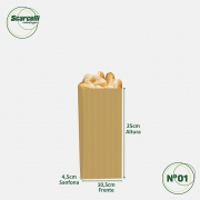 Saco de Papel Kraft Pardo Nº01 - 500 unidades