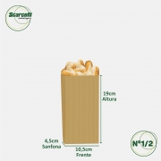 Saco de Papel Kraft Pardo Nº 1/2 - 500 unidades