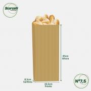 Saco de Papel Kraft Pardo Nº7.5 - 500 unidades