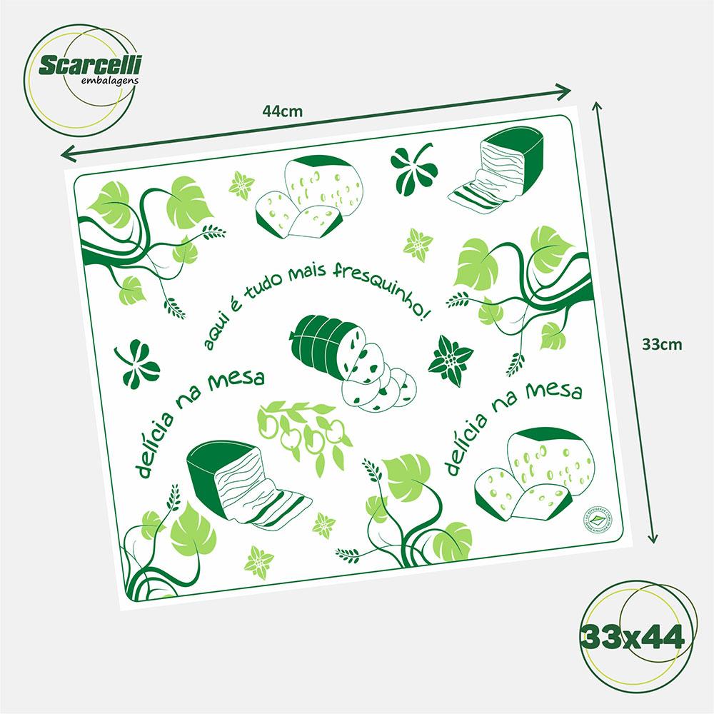 Folha de Papel Acoplado para Frios N° 03 - 33x44cm - 1.000 folhas
