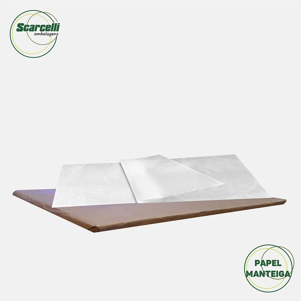 Folha de Papel Manteiga - Glasspel - 400 folhas