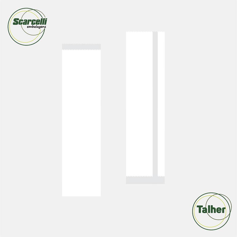 Saco Branco para Talher N°01 - 1.000 unidades
