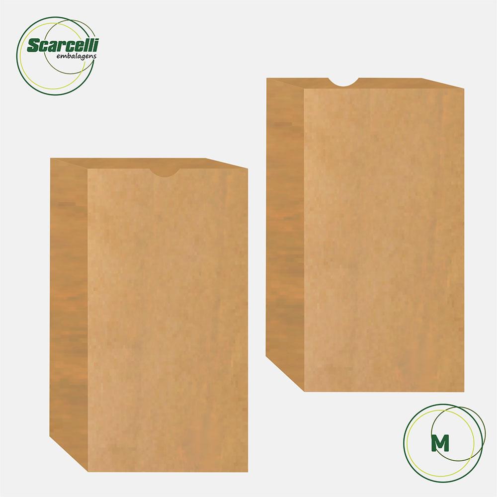 Saco de Papel SOS Empacotamento M - 100 unidades