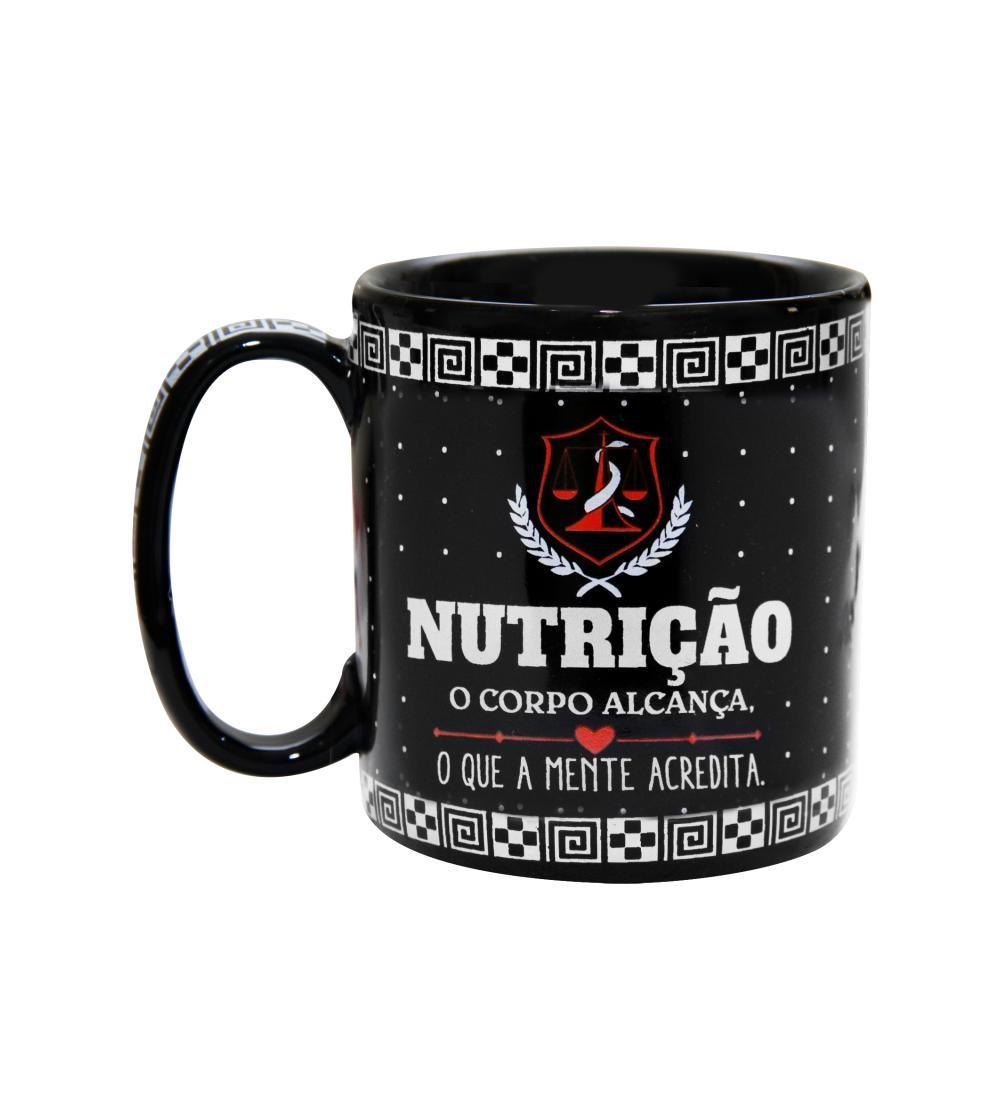 CANECA PORCELANA 300ML NUTRIÇÃO