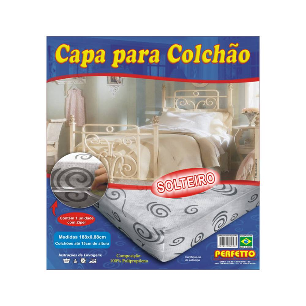 CAPA COLCHAO SOLTEIRO 19X88CM 047