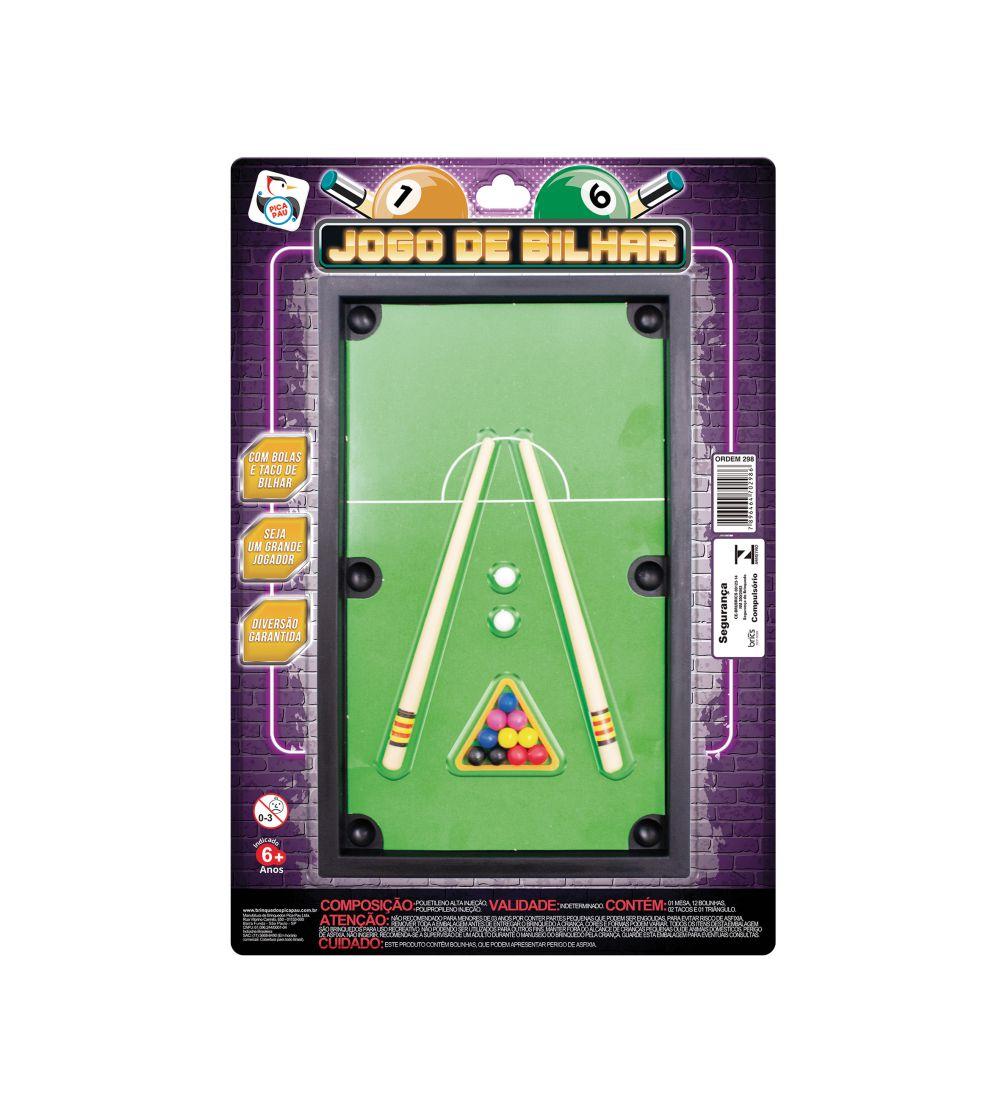 JOGO DE BILHAR 298
