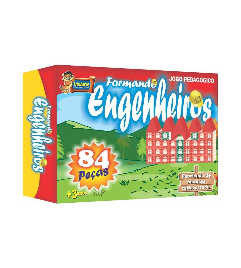JOGO FORMANDO ENGENHEIROS 84PC 3792