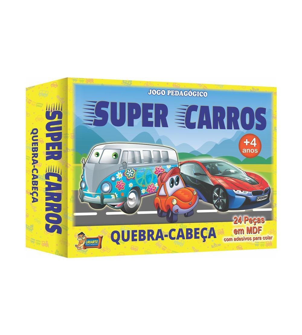 JOGO QUEBRA CAB MAD.CARROS 24PC 4043