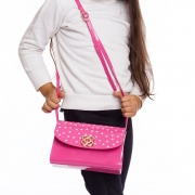 Bolsa Pequena Infantil Menina Petite Jolie Estrelas PJ10345IN