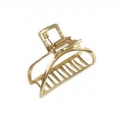 Piranha Prendedor Cabelo Feminina Metal Arco Bonita
