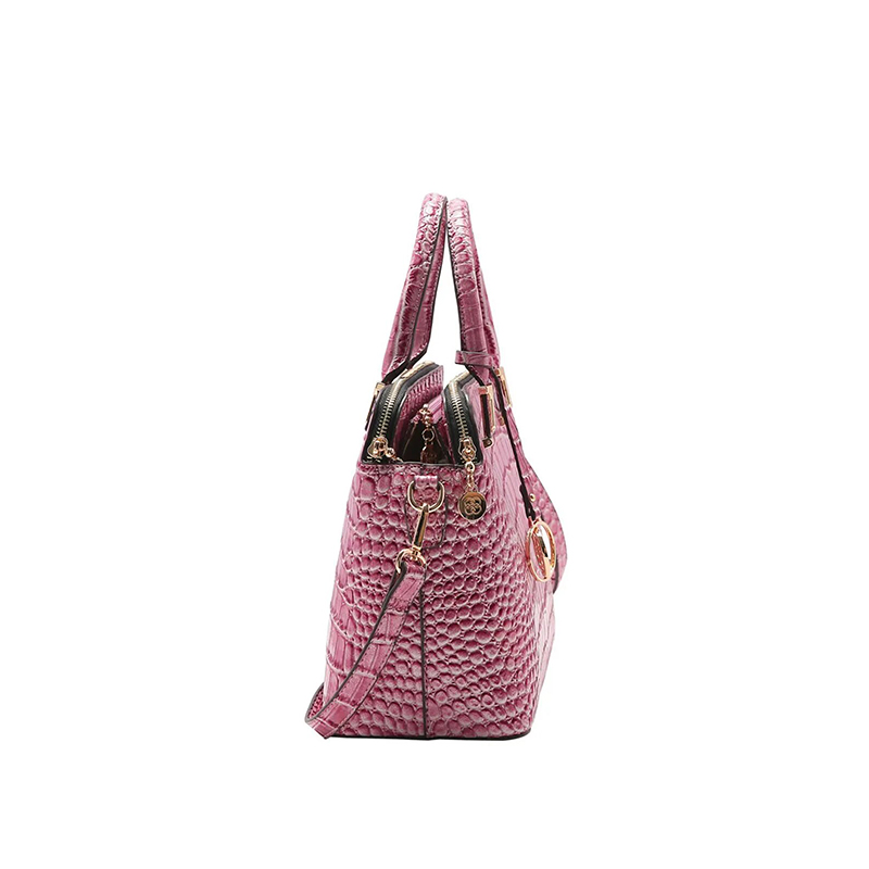 Bolsa Feminina Chenson Croco Gliter de Mão CG83194