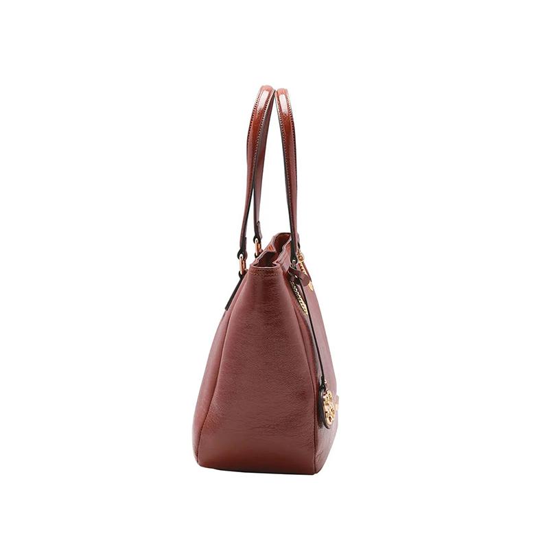 Bolsa Feminina Chenson Verniz Texturizado de Ombro CG83213
