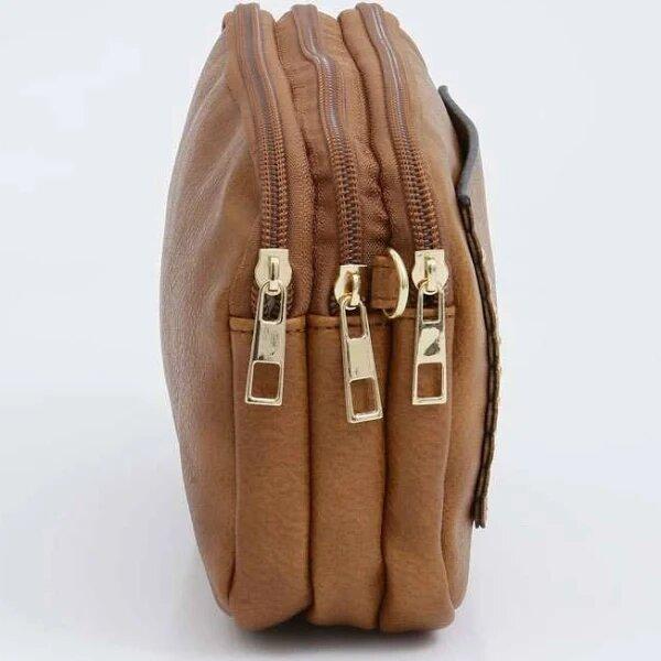 Bolsa Feminina Gash Mini Bag 3 Divisórias