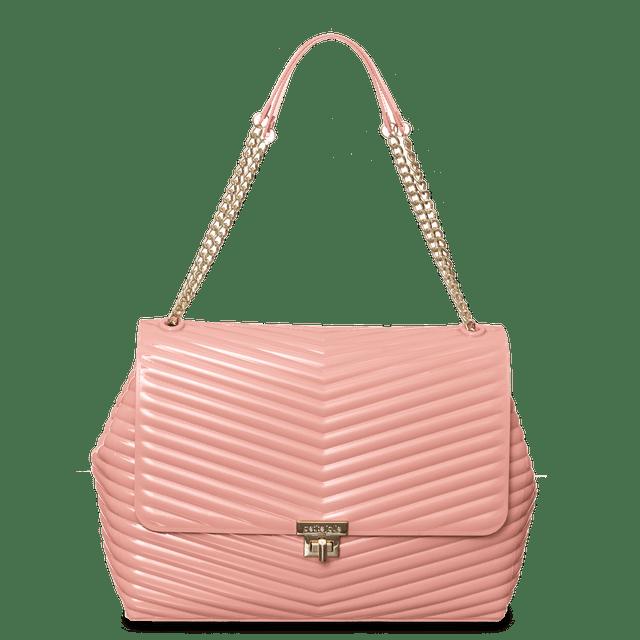 Bolsa Feminina Maya Petite Jolie Textura Matelassê PJ10079