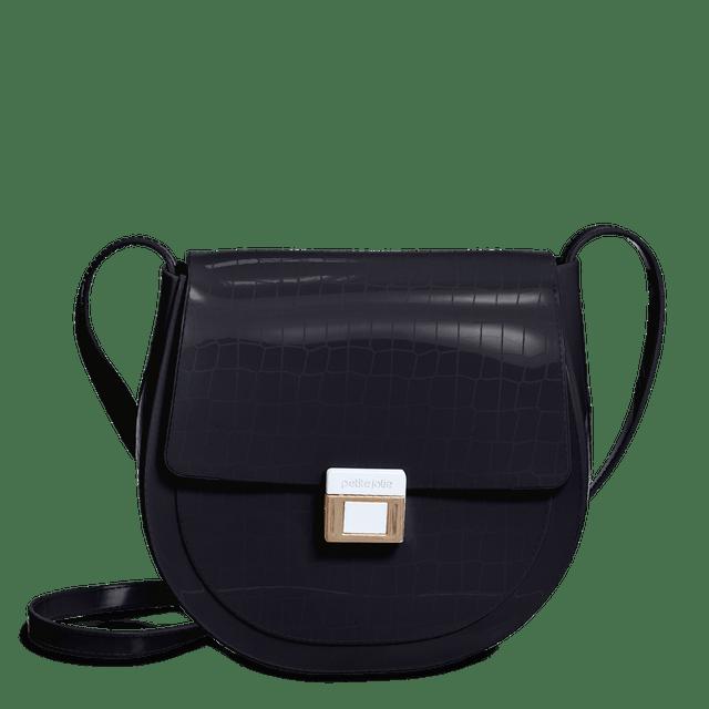 Bolsa Feminina Mini Sadlle Petite Jolie Tiracolo PJ10060
