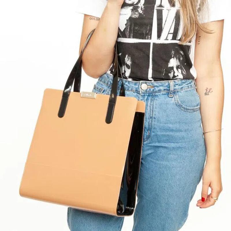 Bolsa Feminina Petite Jolie Dots Alça de Mão PJ5136