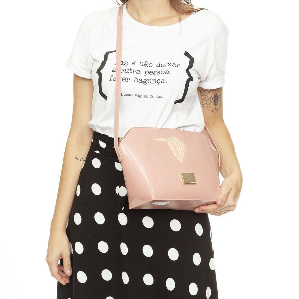 Bolsa Feminina Petite Jolie Next Transversal Sofisticada PJ10168