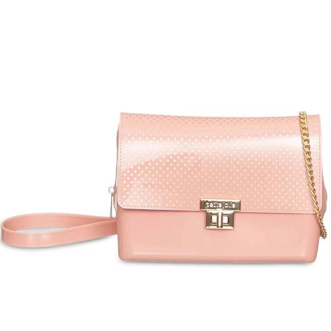 Bolsa Feminina Petite Jolie Petite com Estampa Alça Tiracolo PJ10126