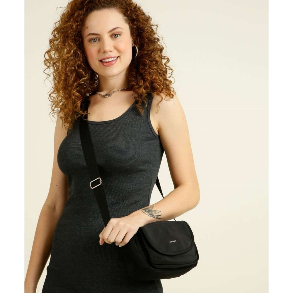 Bolsa Feminina Up4you Transversal com Bolso BU78661