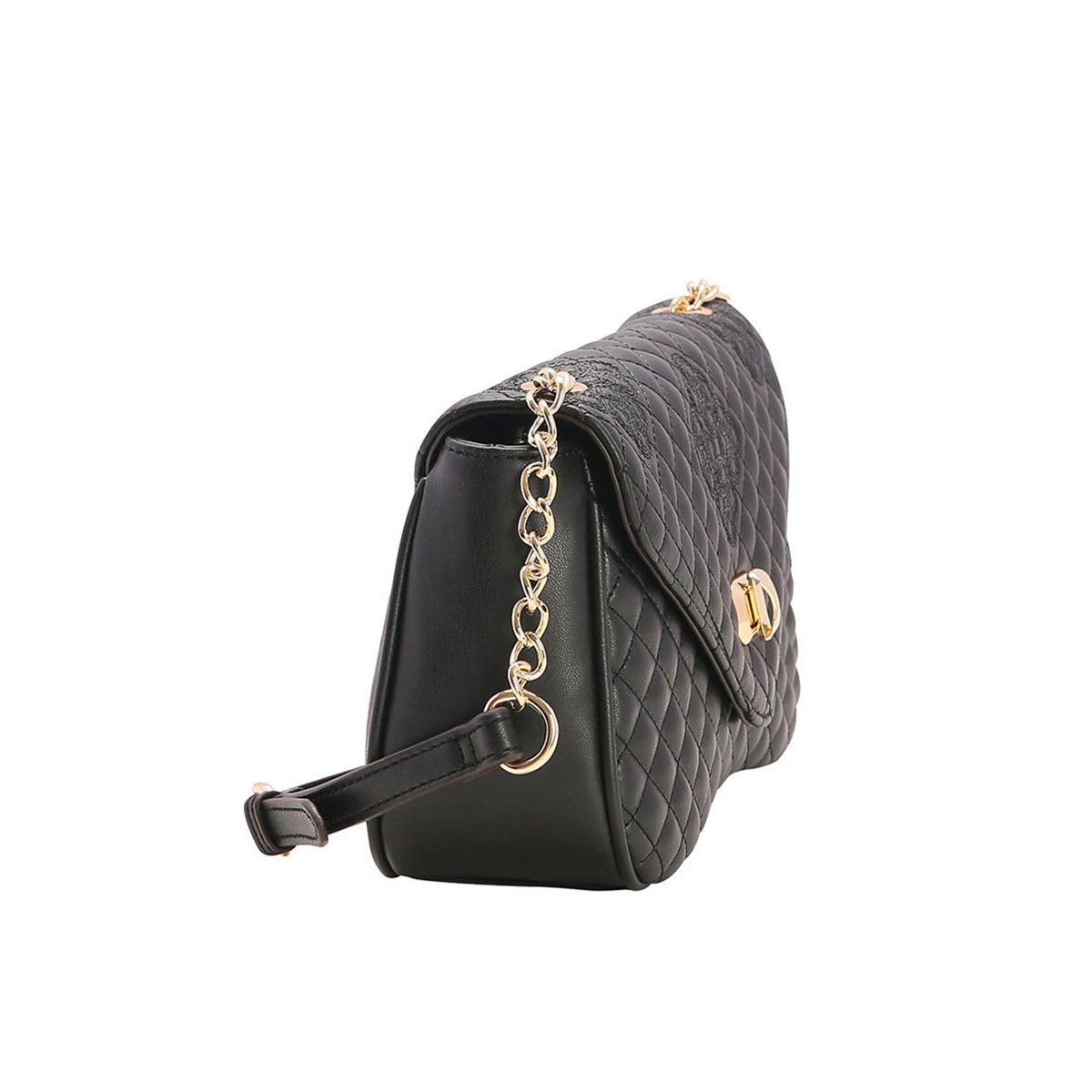 Bolsa Pequena Feminina Chenson Metalassê Transversal Chique