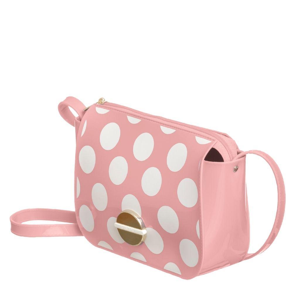 Bolsa Pequena Feminina Petite Jolie Bolinhas Delicada PJ10340