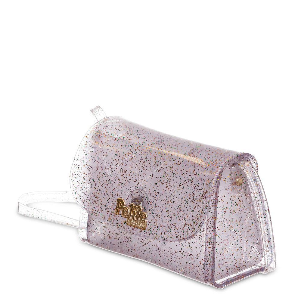 Bolsa Pequena Infantil Menina Glitter Divertida PJ10371IN