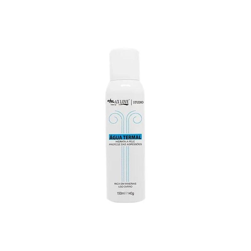 Kit Com 2 Água Termal Max Love Maquiagem 150ml