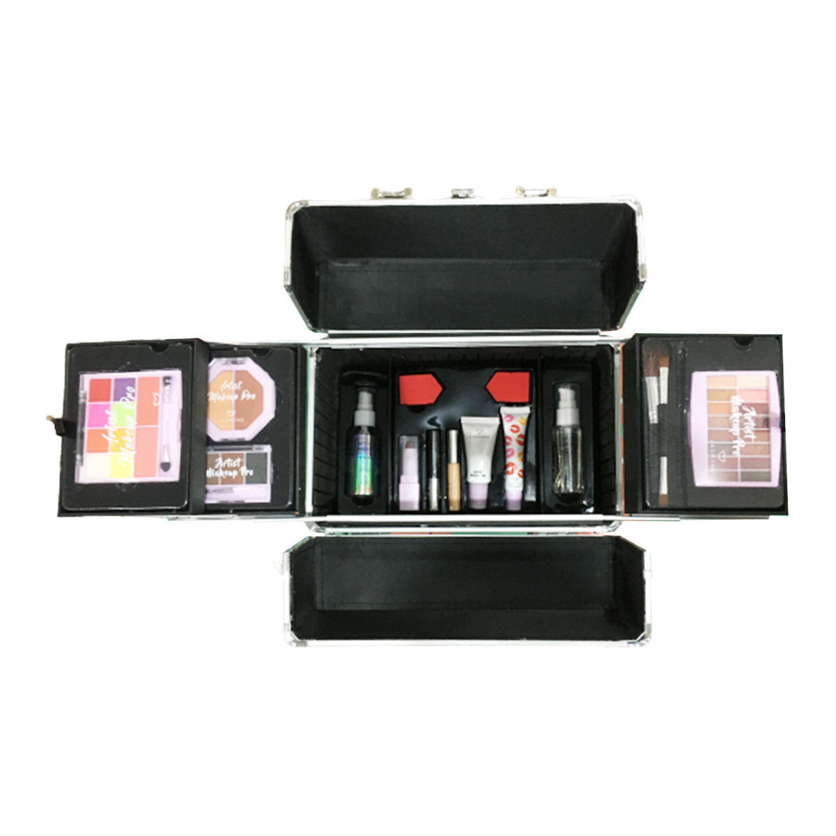 Maleta Maquiagem Profissional Jasmyne Completa JS06063