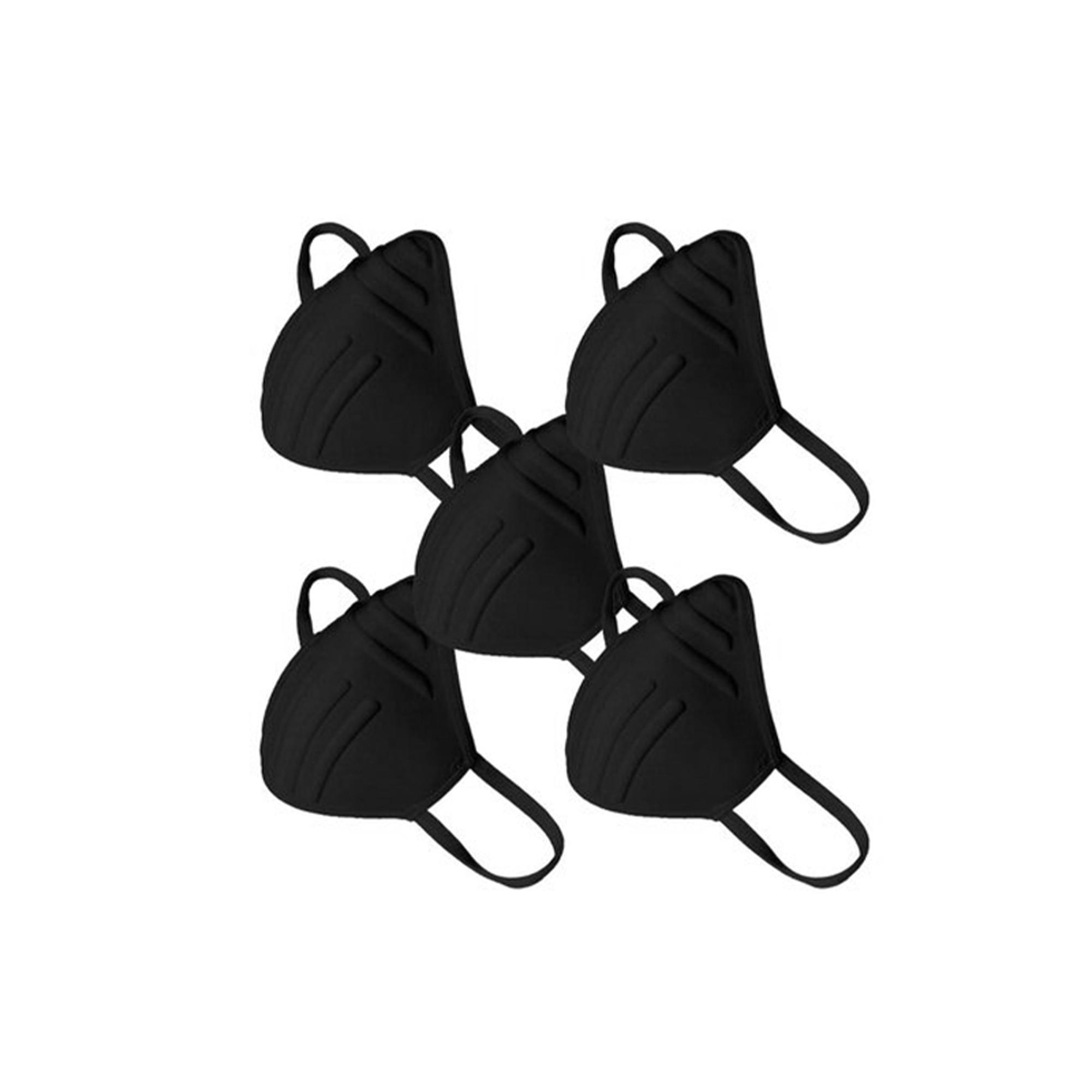Máscara Proteção Antiviral Lavável com 5 Unidades Unissex
