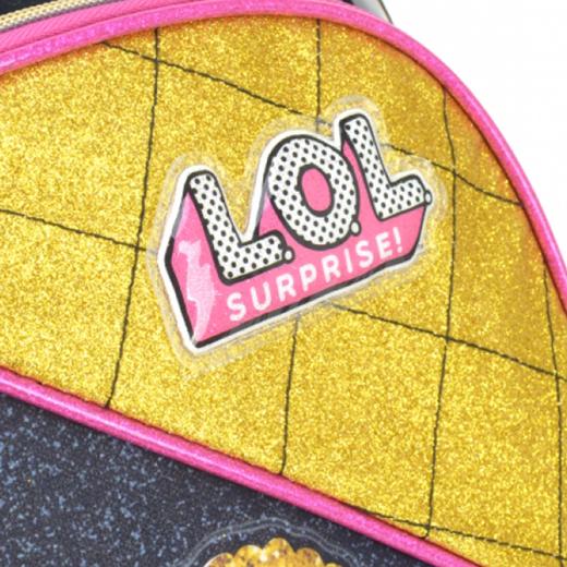 Mochila Infantil Feminina Luxcel LOL Surprise Glitter
